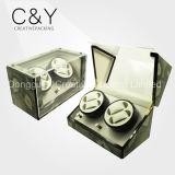 Vente en gros 4 + 0 Cyan Wooden China Automatic Watch Winder Box