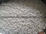 Tonnes de sacs 1000kg empaquetant des particules de 2-4mm de chlorure d'ammonium industriel de pente