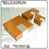 Prenda de jóias Madeira Armazenamento de madeira Caixa de embalagem Rectângulo Anel Brinco Bracelet Bracelet Box (lw010A)