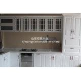 中国様式の高い光沢のある食器棚