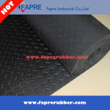 Large Fine Ribbed/Checker Runner/Coin Pattern/Corrugated/Diamond Thread Pattern Rubber Mat Sheet Roll Floor pour Workshop et Car