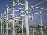 Светлый пакгауз стальной структуры луча h стальной рамки