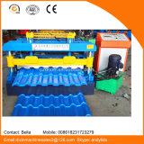China Color Coated Roofing Sheet Steel Perfil Roll formando máquina