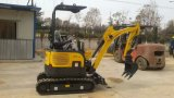 Excavador de CT16-9d (cola cero, chasis retractable) mini con la cabina