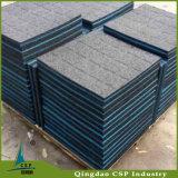 Mattonelle di pavimentazione di gomma commerciali di forma fisica elastica di ginnastica dalla fabbrica della Cina