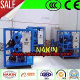 Double épurateur de pétrole de transformateur de vide d'étapes, machine de filtration de pétrole