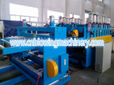 Hoja de la espuma de WPC, máquina de la protuberancia de la tarjeta para la cadena de producción