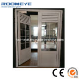 Puerta abierta del estilo del marco del oscilación de aluminio de la puerta