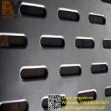 Feuille perforée en aluminium d'acier inoxydable d'usine de constructeur