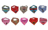 100% algodón bufanda del triángulo baberos para bebés, para el muchacho o la muchacha