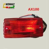 Ww-7173 Lichte Stoplicht van Tial van de Lamp van het Deel van de motorfiets het Achter voor Ax100