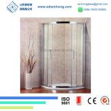 Decoratieve Schommeling die de Frameless Aangemaakte Deur van de Douche van het Glas glijden