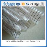Manguera reforzada material resistente de la eliminación del polvo del alambre de acero del PVC de la abrasión