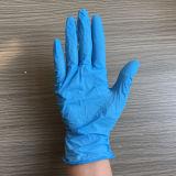 Luvas médicas descartáveis da examinação do nitrilo