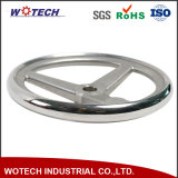 カスタマイズされたステンレス鋼の失われたワックスの鋳造手車輪の鋳造の鋳物場