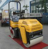 2 toneladas ampliamente utilizadas de asfalto de la carretera del rodillo del solo tambor hidráulico de rodillo de camino vibratorio para la venta (FYL-880)