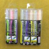 Extrémité deux dans un crayon lecteur de barre de mise en valeur, crayon lecteur fluorescent