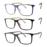 Bâti optique de monocle en plastique de lunetterie d'Ultem de modèle de mode avec la tempe en aluminium E053
