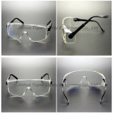 Glazen van Eyewear van de Veiligheid van de Tempels van Frameless de Regelbare (SG108)