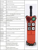 Rádio de tecla Two-Step à prova de explosões F21-4D de controle remoto do Sell quente