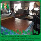 Placa do MDF da melamina do tamanho padrão para fazer a mobília de madeira