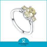 最も新しいギフト925の在庫(R-0566)の銀製の宝石類のリング