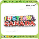 Fördernde Geschenke angepasst mit 3D Kühlraum-Magnet-Entwurf Kanada (RC-CA) Belüftung-