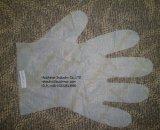 Устранимая пластичная перчатка PE или HDPE для еды
