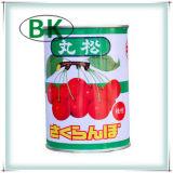 Cerejas enlatadas na alta qualidade do xarope