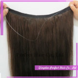Capelli non trattati di guidacarta di vibrazione dei capelli umani del Virgin