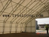 Edificio de almacenaje de la maquinaria, almacén confeccionado, estructura de acero (TSU-6549/TSU-65131)