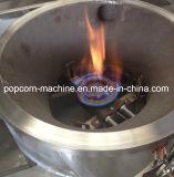 Машина попкорна промышленного газа Heated с смесителем