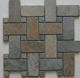 Flooring를 위한 슬레이트 Mosaic Tile