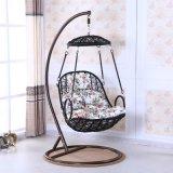 ハングの椅子の&Swing藤の家具、藤のバスケット(D007)