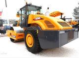 XCMG 상표 16 톤 판매를 위한 기계적인 단 하나 드럼 Xs162j 새로운 도로 롤러
