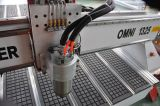 OmniイタリアHsd Aircoolingスピンドルが付いている1325年のCNCのルーター機械およびWoodowrkingのための高い発電モーター