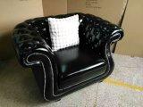 ワックスの革余暇の椅子、居間の家具(XT-09)