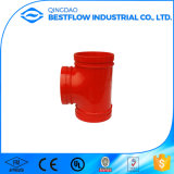 FM UL  Grooved  Ductile  Iron  Pipe  Fitting  Conetar flanges