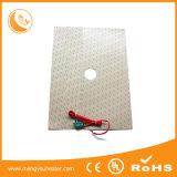 calefator 12V-240V da borracha de silicone do elemento de aquecimento da temperatura 200c