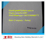 Telhas laminadas PVC do teto suspendido de placa de gipsita (placa de emplastro) (ISO)