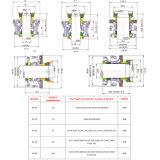 Xylem Flygt 펌프를 위한 카트리지 기계적 밀봉, 플러그 접속식 물개