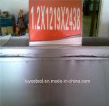Placa de acero inoxidable/hoja 316 surtidor de 321 profesionales