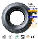 Neumático 4.00-8 del policía motorizado del neumático tres del triciclo