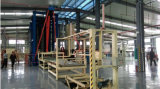 Máquina de la prensa de la tarjeta de la madera contrachapada de los pies 4*8