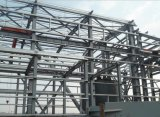 Magazzino prefabbricato della struttura d'acciaio del mezzanine a più strati
