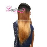 Cheveu réel de Brésilien de Vierge de qualité de vente en gros de vison