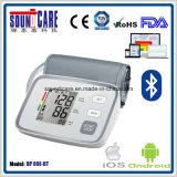 Mètre compatible de pression sanguine d'IOS 4.0 pour Noël (BP80E-BT)
