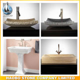 Granito e Marble Acima-Counter de Bathroom Sink para Sale