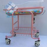 Cer-Bescheinigung-Krankenhaus-Krankenhaus-Edelstahl-neugeborenes Baby-Laufkatze-Bett