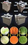 Самая лучшая продавая дешевая тяпка овоща резальной машины еды нержавеющей стали